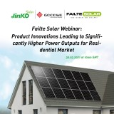 Failte Solar: Product Innovations leading to significantly higher Power outputs for the residential market